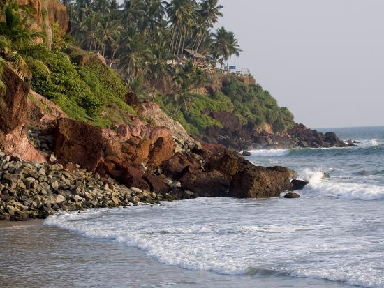 Kovalam Beach, Trivandrum, Kerala, India, Asia--Photographic Print
