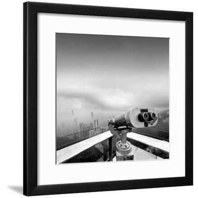Kowloon View-Rob Cherry-Framed Giclee Print