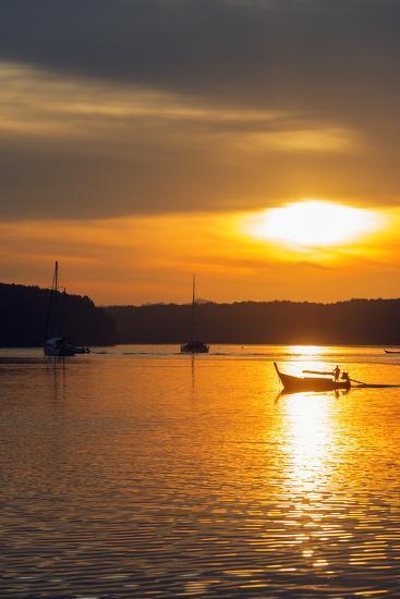 Krabi Estuary Sunrise, Krabi, Thailand, Southeast Asia, Asia-Christian Kober-Photographic Print