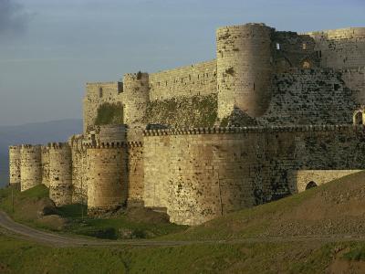 Krak Des Chevaliers, UNESCO World Heritage Site, Syria, Middle East-Woolfitt Adam-Photographic Print