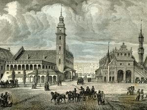 Krakow Cracovie Poland 19th Century