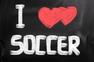 I Love Soccer by Krasimira Nevenova