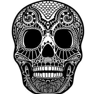 Skull Ornament by krasstin