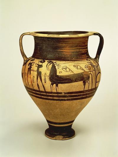Krater Decorated with Figures of Bigae--Giclee Print