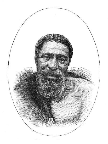 'Kreli, Chief of the Galekas', 1877, (c1880)-Unknown-Giclee Print