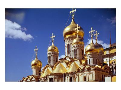 Kremlin Cathedrals, Moscow--Art Print