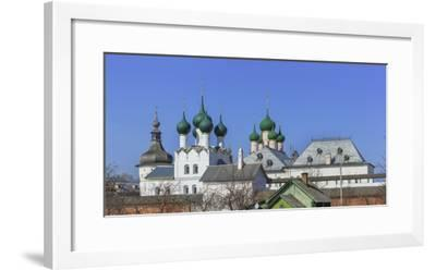 Kremlin, Rostov, Yaroslavl region, Russia-Ian Trower-Framed Photographic Print