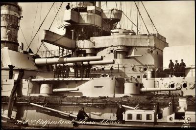 Kriegsschiff S. M. S. Ostfriesland, Artillerie--Giclee Print