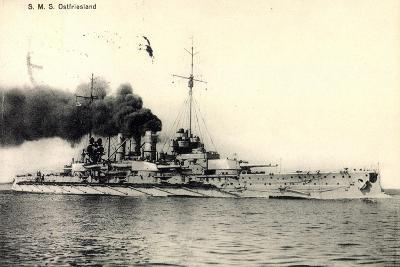 Kriegsschiff Sms Ostfriesland, 1914--Giclee Print