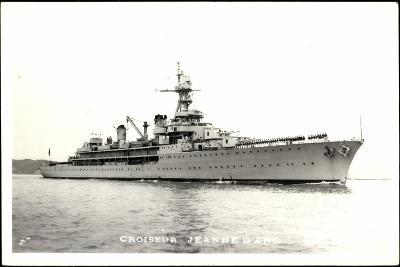 Kriegsschiffe Frankreich, Croiseur Jeanne D'Arc--Giclee Print