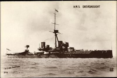 Kriegsschiffe Frankreich, H.M.S Dreadnought--Giclee Print