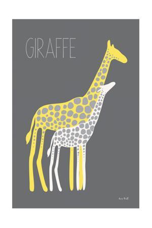 Yellow Zoo V by Kris Ruff