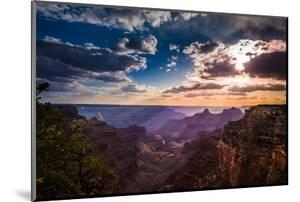 Grand Canyon North Rim Cape Royal Overlook at Sunset by Kris Wiktor