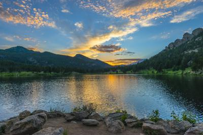 Lilly Lake at Sunset - Colorado by Kris Wiktor