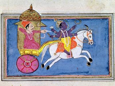 Krishna, Hindu Deity, an Avatar of Vishnu, 17th Century
