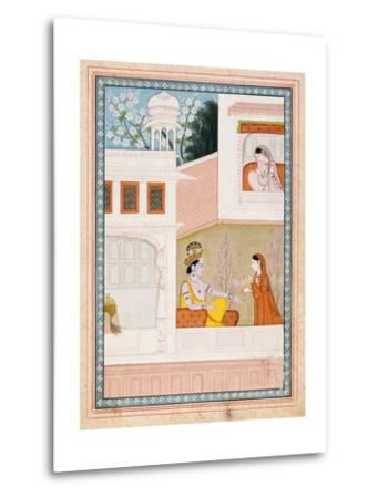 Krishna Talks to Radha's Maidservant