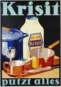 Krisit - Putzt Alles Poster