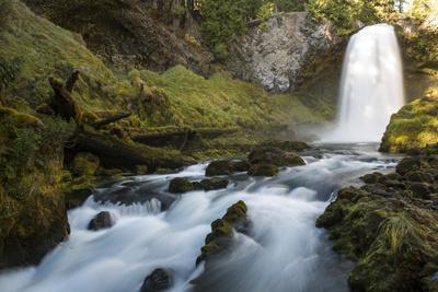 Sahalie Falls in Linn County, Oregon