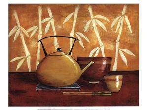 Bamboo Tea Room I by Krista Sewell