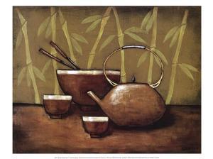 Bamboo Tea Room II by Krista Sewell