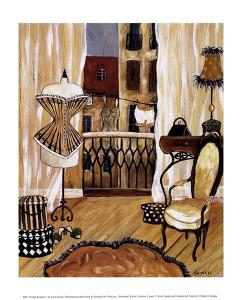 French Boudoir I by Krista Sewell