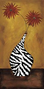 Safari Floral I by Krista Sewell
