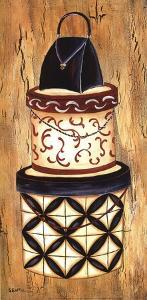 Vintage Hat Box I by Krista Sewell