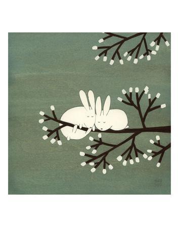 Rabbits on Marshmallow Tree