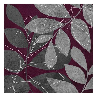 Grey Purple Leaves 2
