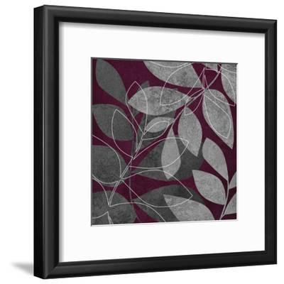 Grey Purple Leaves 2