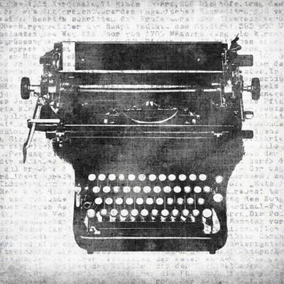 Typewriter 2 by Kristin Emery
