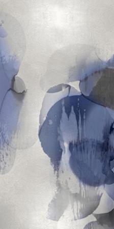 Cascade Indigo Triptych II by Kristina Jett
