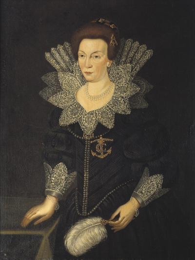 Kristina of Holstein-Gottorp, c.1610-Unknown Artist-Giclee Print