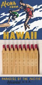 Aloha From Hawaii Matchbook by Kristine Hegre