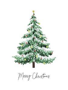 Festive Cheer - Tree by Kristine Hegre