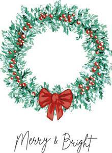 Festive Cheer - Wreath by Kristine Hegre