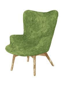 Silla Verde by Kristine Hegre