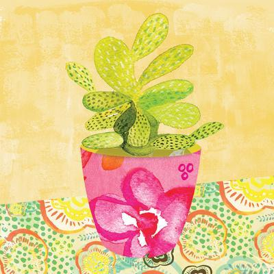 Floral Cacti Pots 3