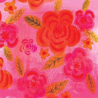 Hot Pink Rosette