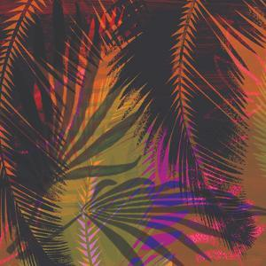 Tropical Floral 4 by Kristine Lombardi