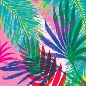 Tropical Floral 7 by Kristine Lombardi