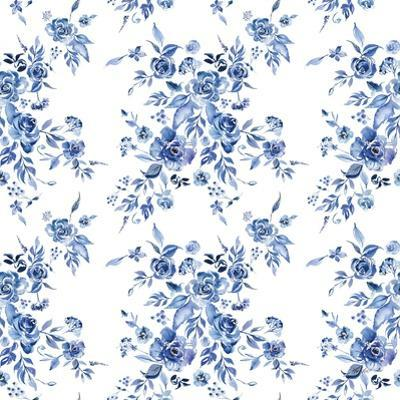 Delft Delight Pattern I by Kristy Rice