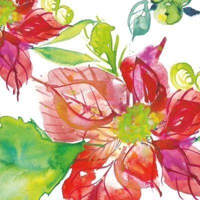 Poinsettia Pretty III by Kristy Rice