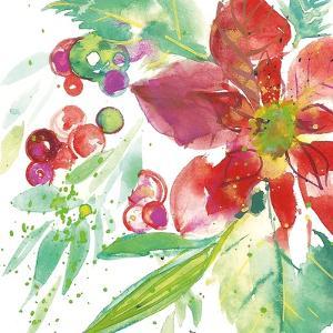 Poinsettia Pretty IV by Kristy Rice