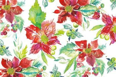 Poinsettia Pretty V by Kristy Rice