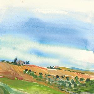 Tuscan Fields by Kristy Rice
