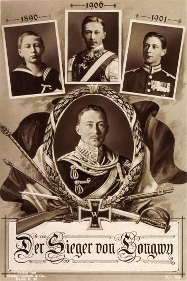 Kronprinz Friedrich Wilhelm, 1890, 1906, 1901,Longwy--Giclee Print