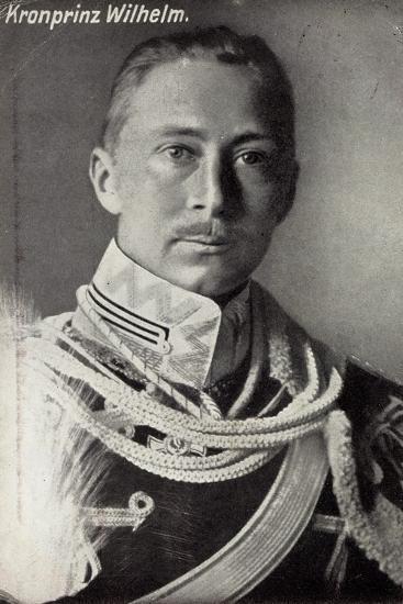 Kronprinz Friedrich Wilhelm Von Preußen, Uniform--Giclee Print