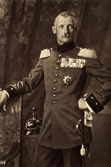 Kronprinz Rupprecht Von Bayern, Heerführer, Liersch--Giclee Print