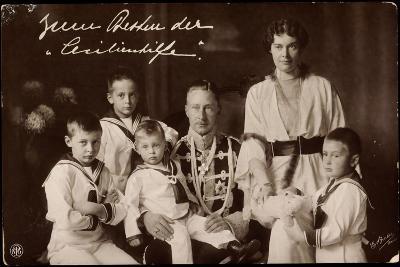 Kronprinz Wilhelm Und Cecilie Mit Söhnen, Npg--Giclee Print